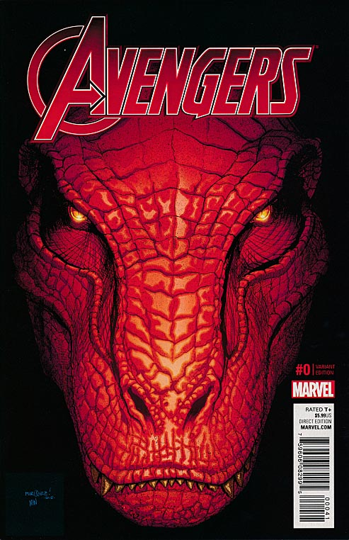 Avengers vol 6 - 0 ( 1 in 10 David Marquez Kirby Monster Variant)