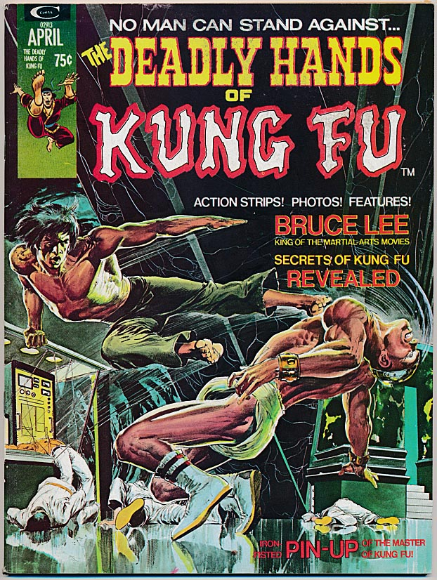 Deadly Hands Of Kung Fu Magazine 1 -VFNM