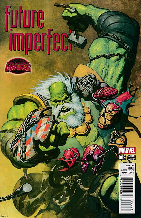 Future Imperfect 2 ( 1 in 25 Rafa Garres Variant)