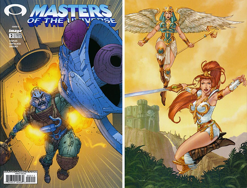 Masters Of The Universe vol 3 - 2 A (Front & Back Covers)