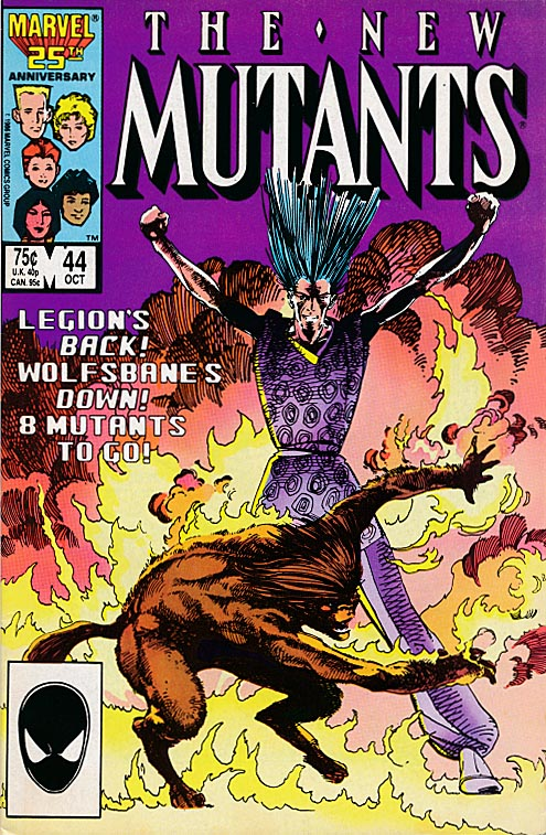 New Mutants 44 --VF