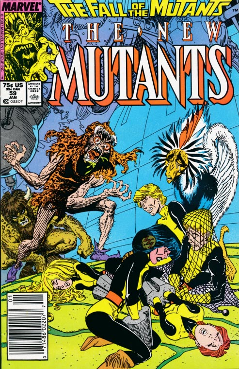 New Mutants 59 (Newstrand Edition) -F