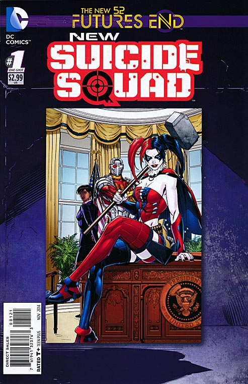 New Suicide Squad Futures End 1 -VF