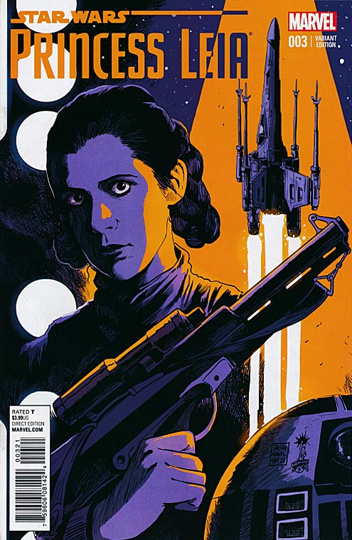 Princess Leia (Star Wars) 3 ( 1 in 25 Francesco Francavilla Variant)