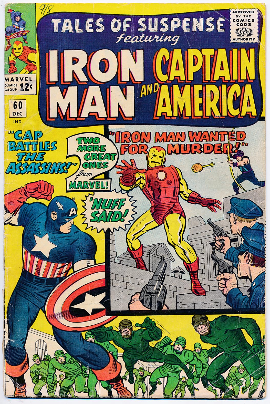 Tales Of Suspense 60 -G