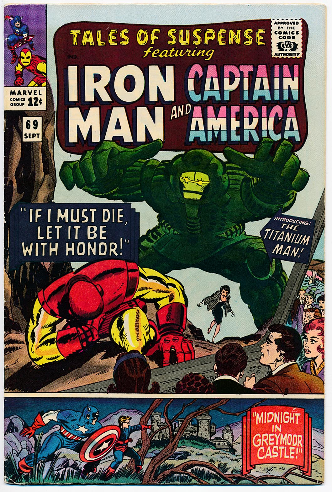 Tales Of Suspense 69 -FVF