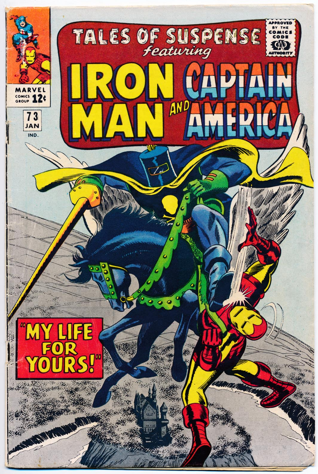 Tales Of Suspense 73 -VGF