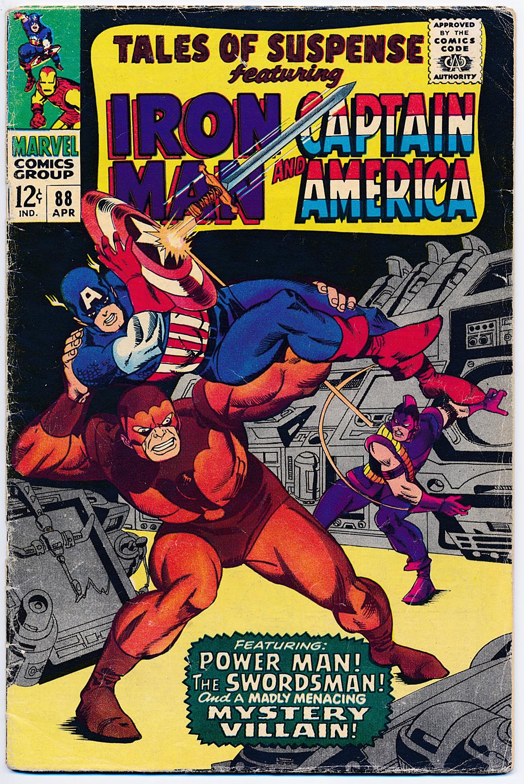 Tales Of Suspense 88 -VG