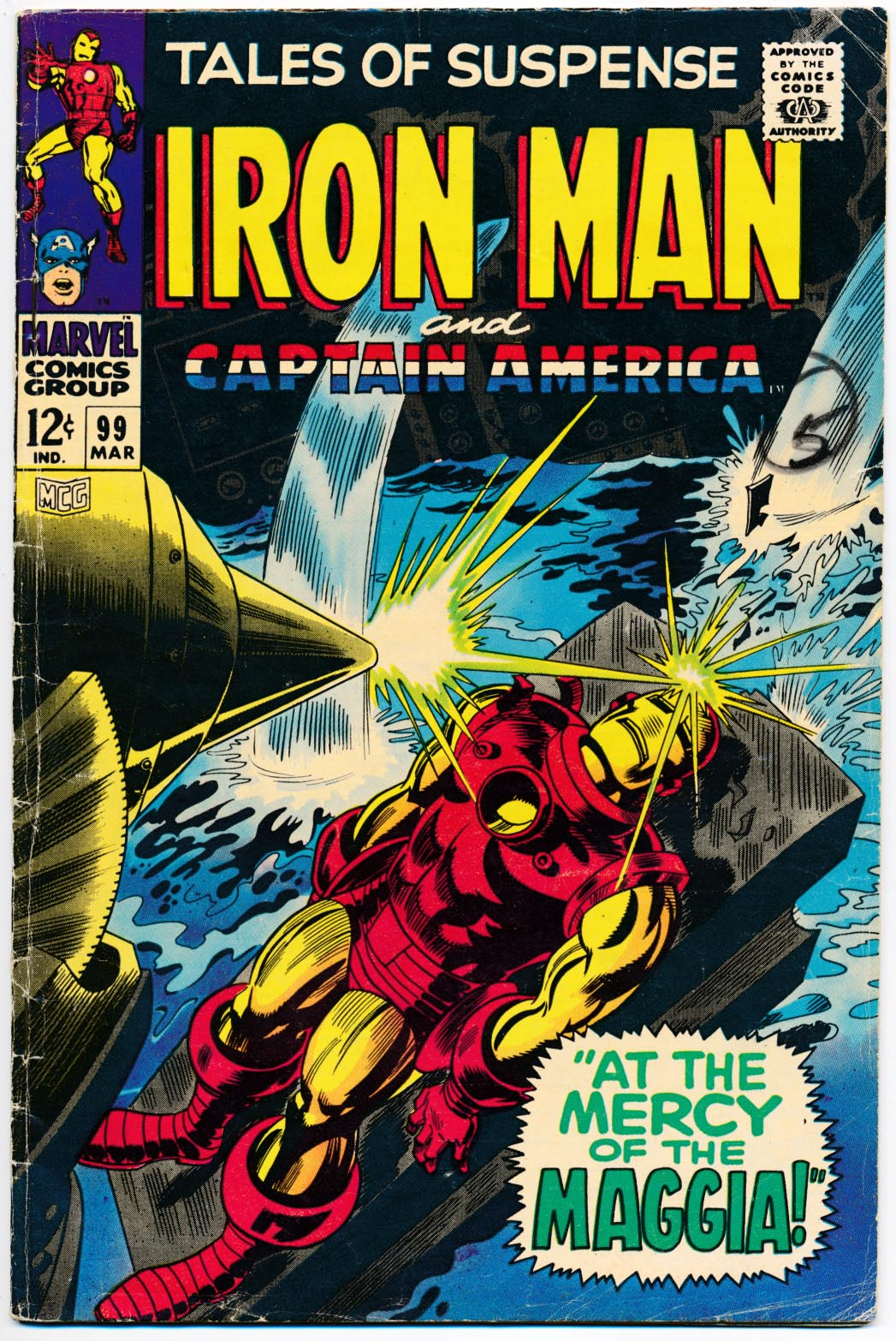 Tales Of Suspense 99 -G