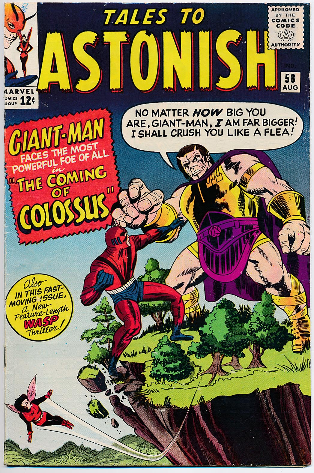 Tales To Astonish 58 -VG