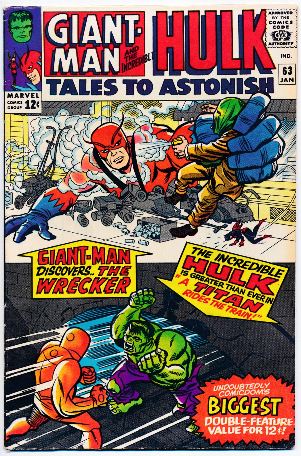 Tales To Astonish 63 -VF