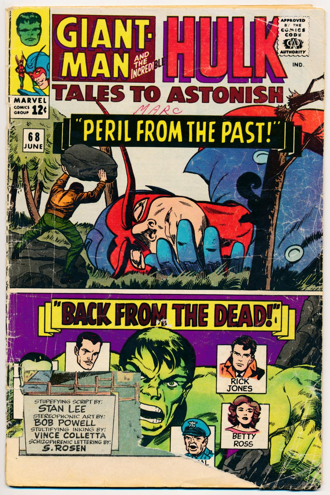 Tales To Astonish 68 -FR