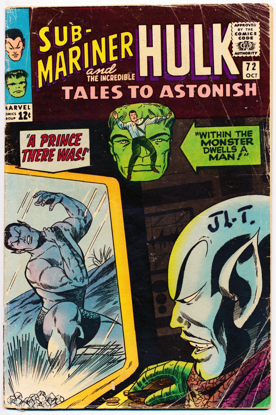 Tales To Astonish 72 -G