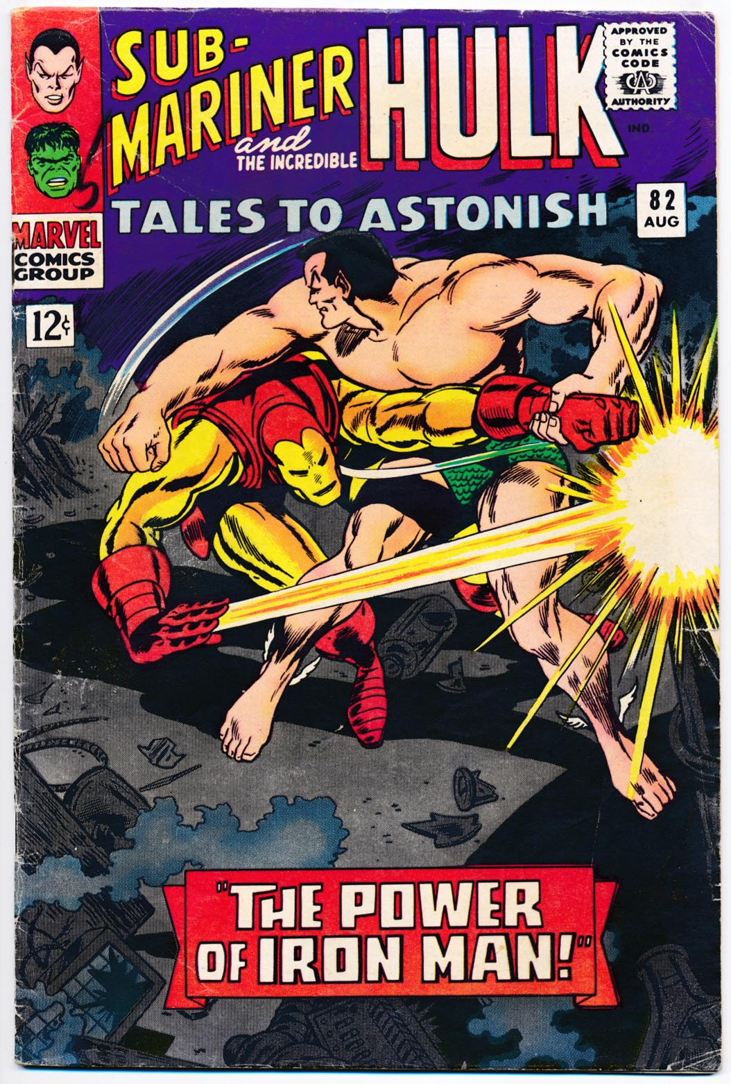Tales To Astonish 82 -VG