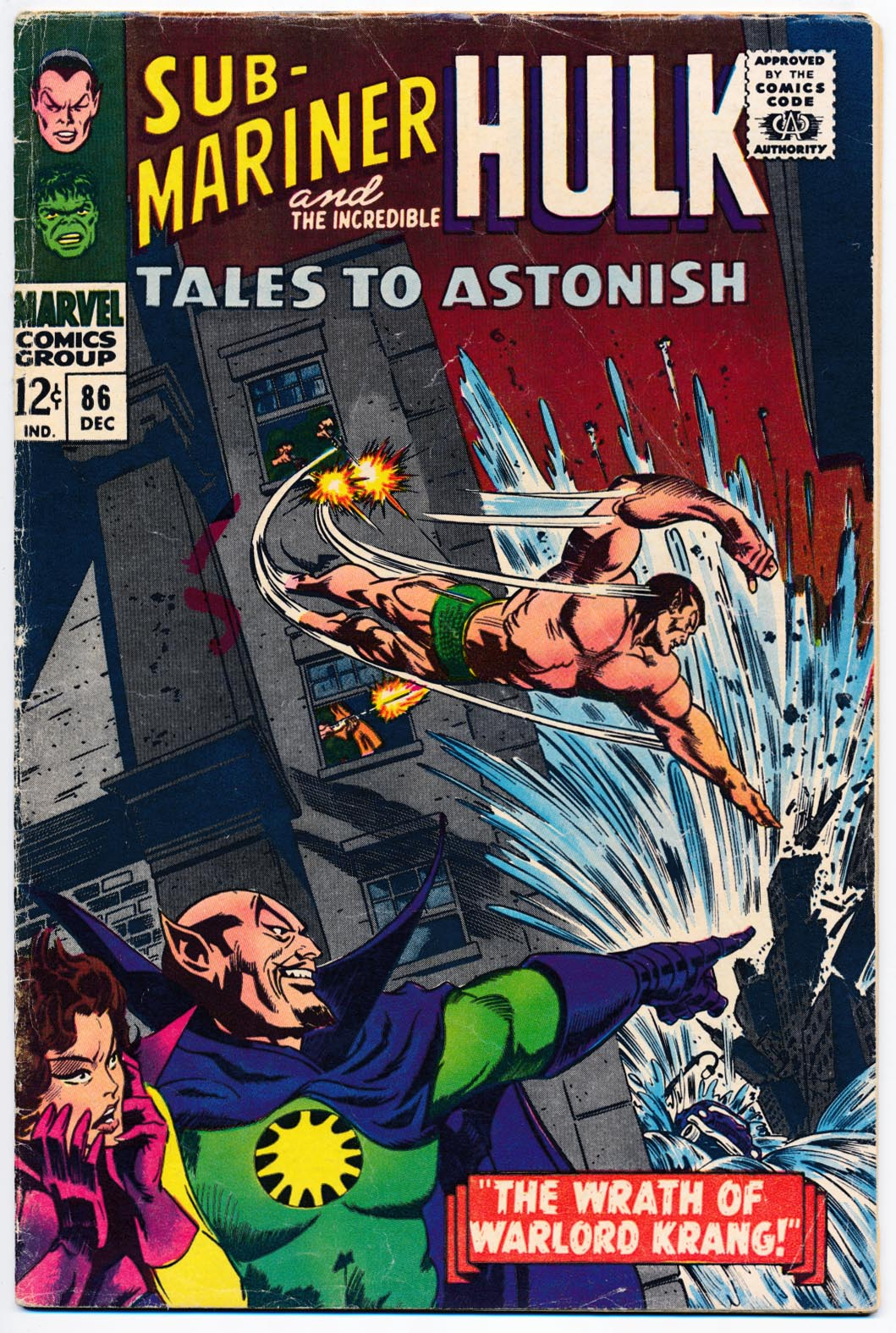 Tales To Astonish 86 -G