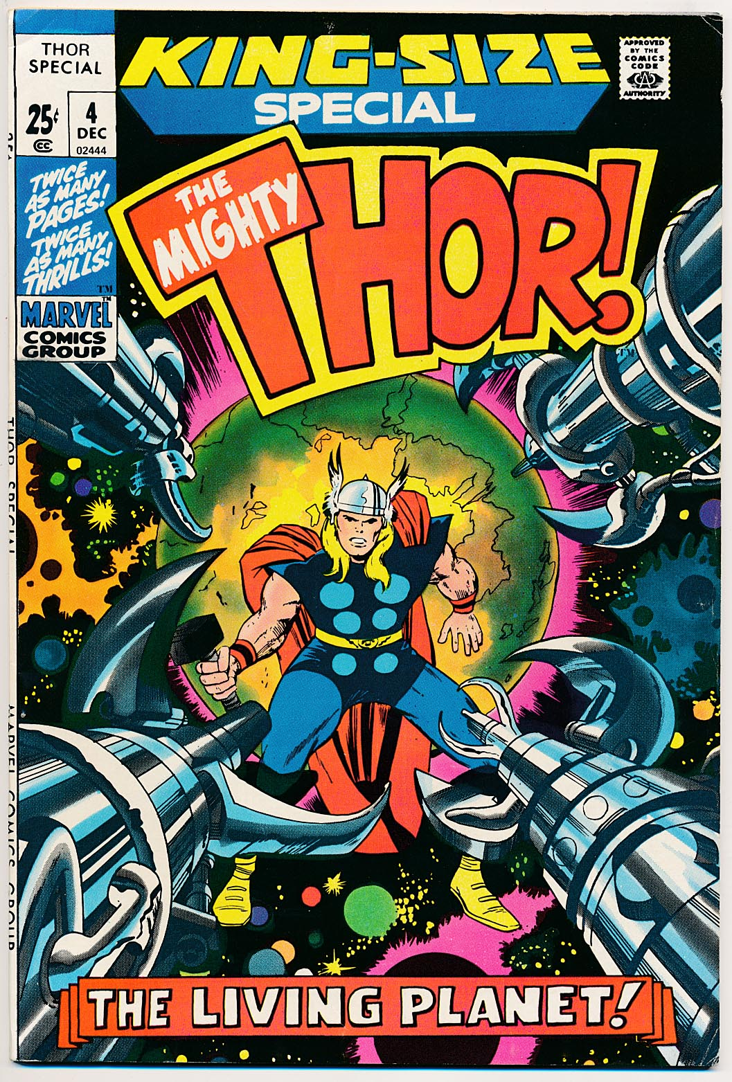 Thor King-Size Special 4 -NM