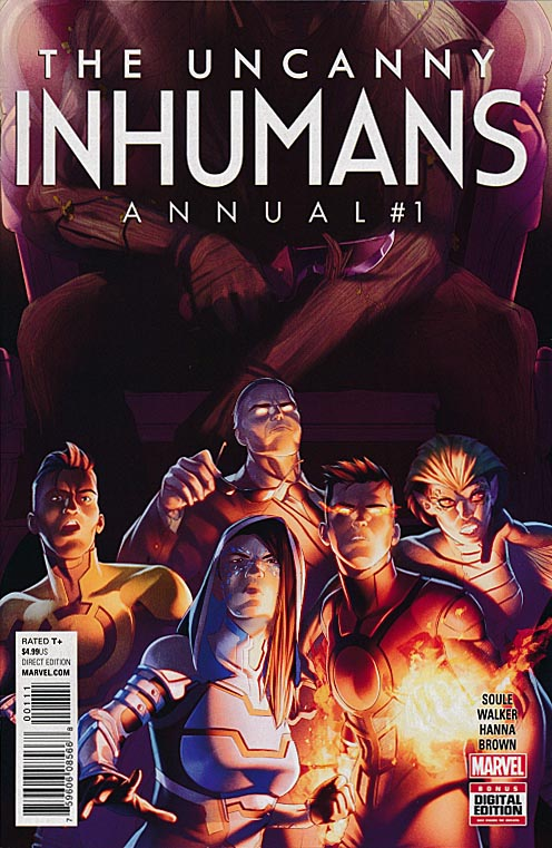 Uncanny Inhumans Annual 1 (Jamal Campbell Regular Cover)