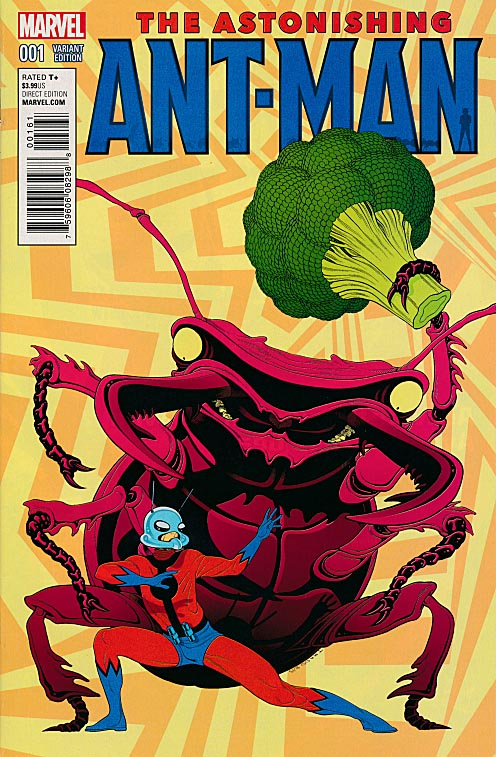 Astonishing Ant-Man 1 ( 1 in 10 Tradd Moore Kirby Monster Variant)