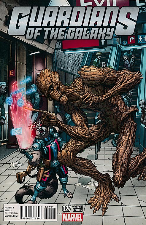 Guardians Of The Galaxy vol 3 - 27 (Nick Bradshaw NYC Variant)