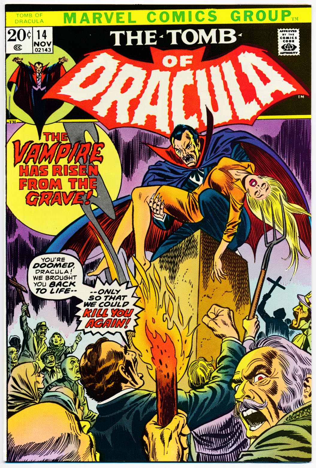 Tomb Of Dracula 14 -VF