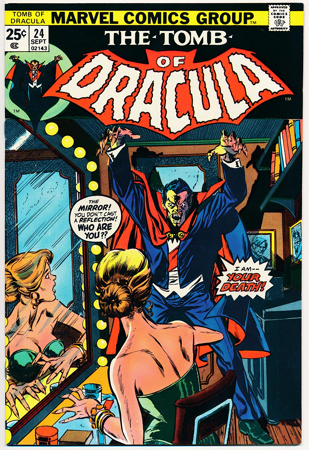 Tomb Of Dracula 24 -VF