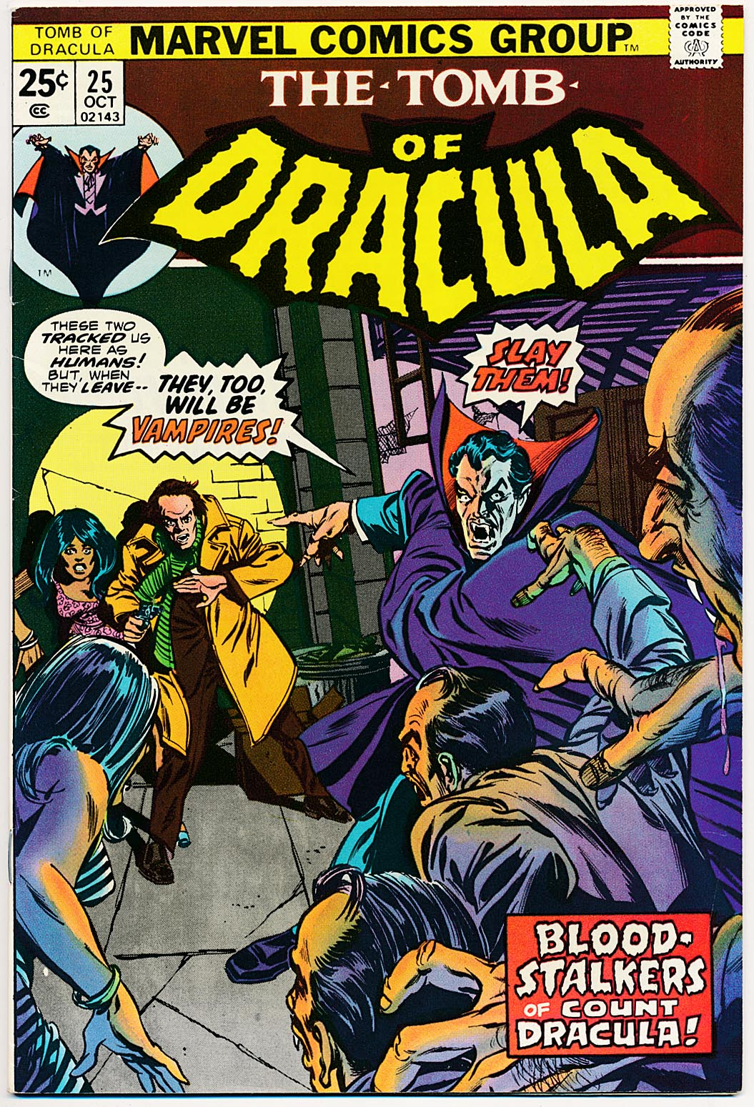 Tomb Of Dracula 25 -VF