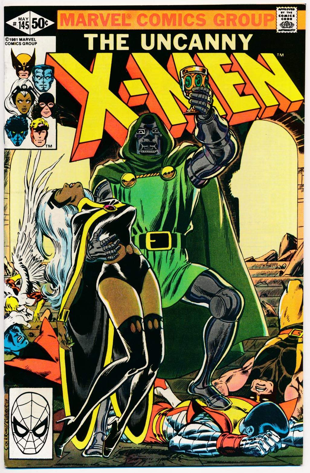Uncanny X-Men 145 (Direct Ed) -NM