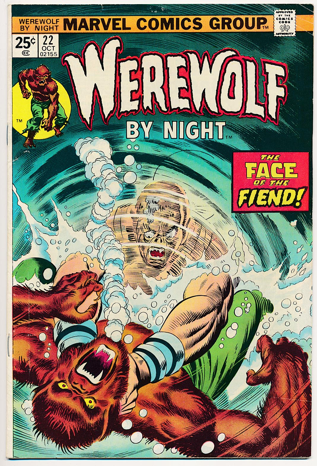 Werewolf By Night 22 -F