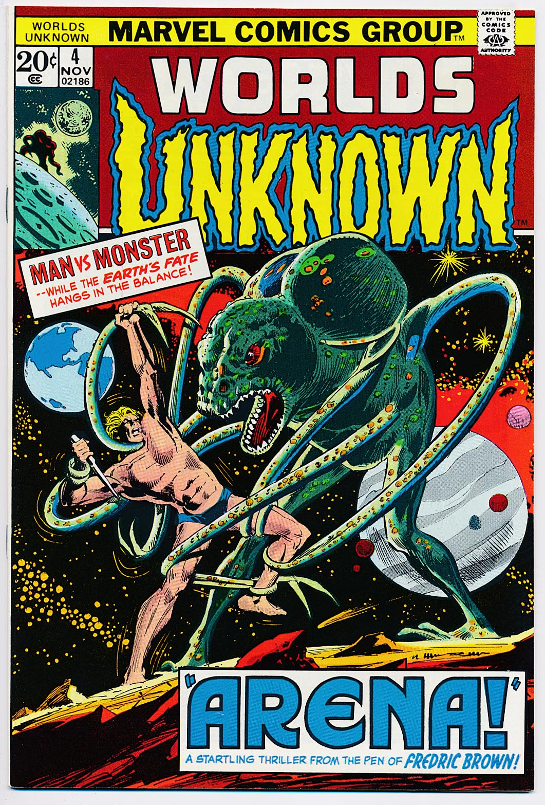 Worlds Unknown 4 -NM