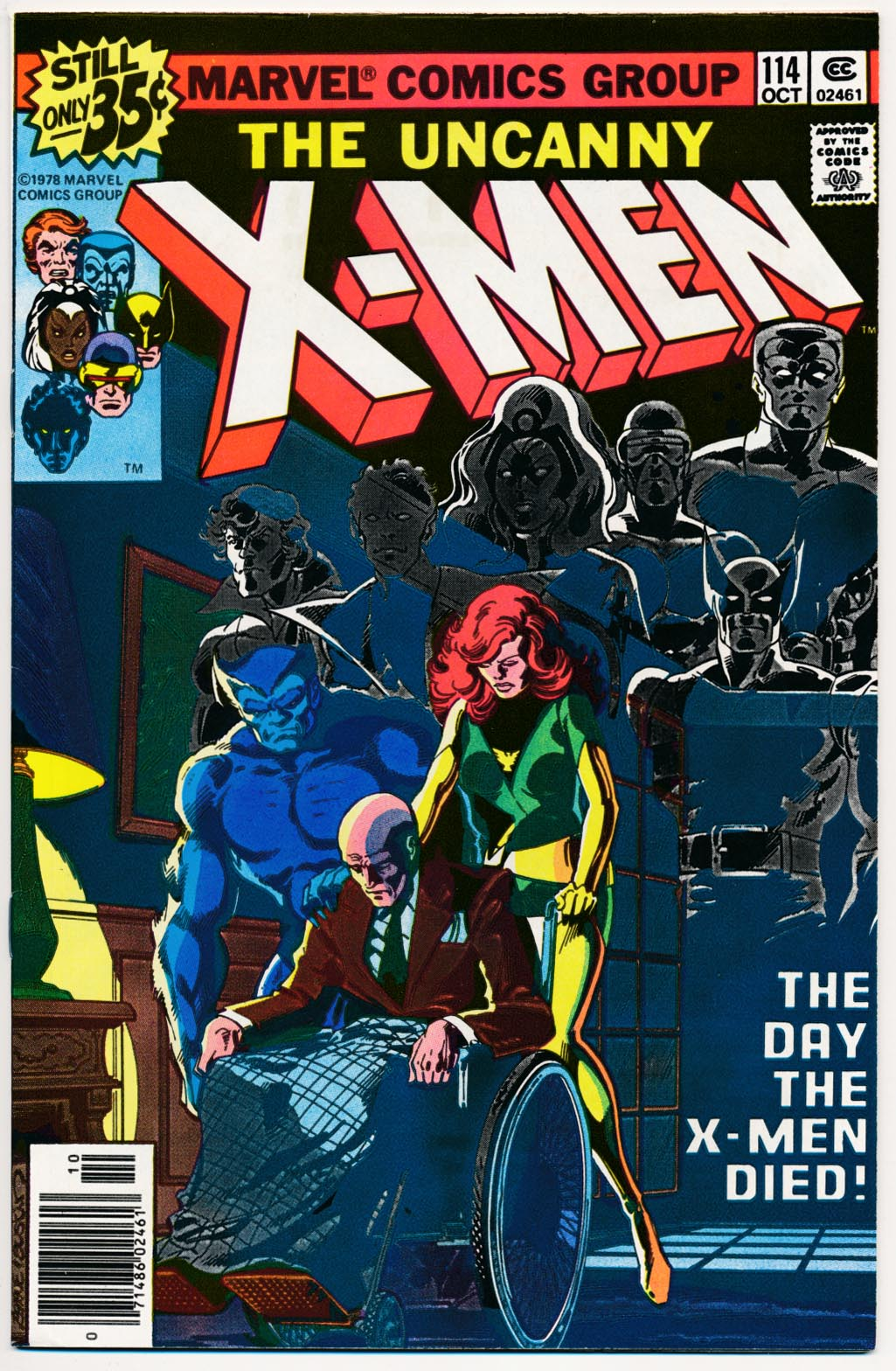 X-Men vol 1 - 114 -VF