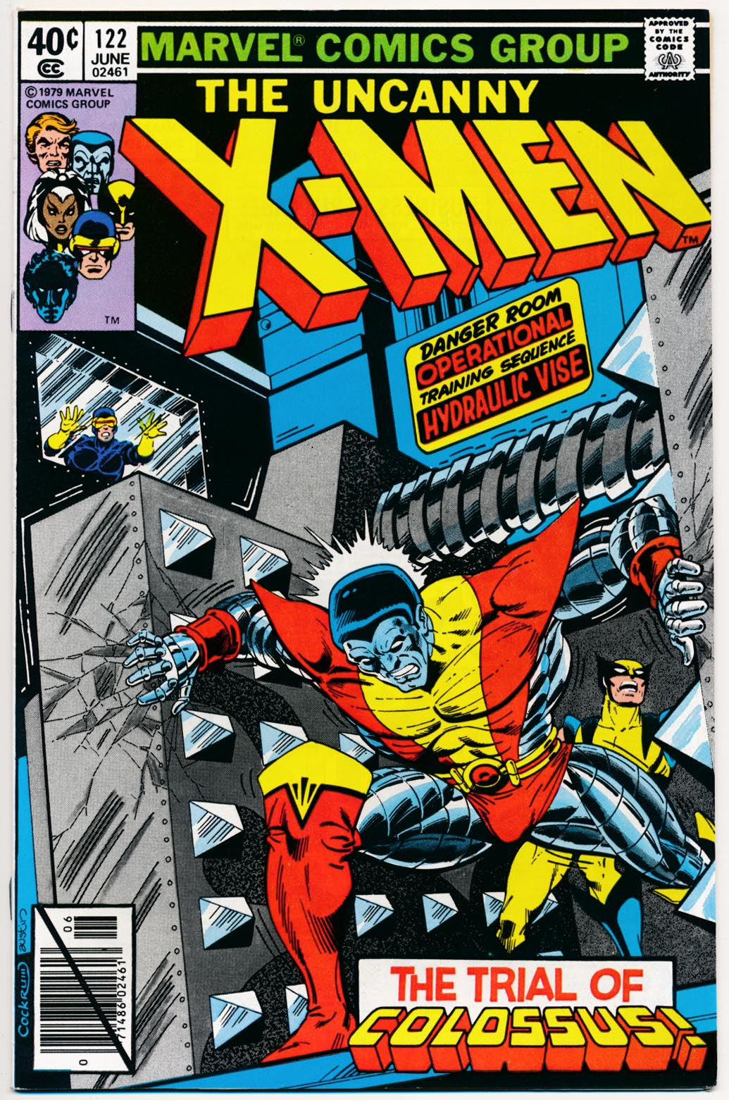 X-Men vol 1 - 122 (Direct Ed) -VFNM