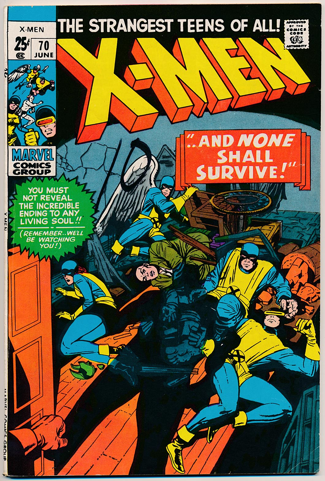X-Men vol 1 - 70 -GVG