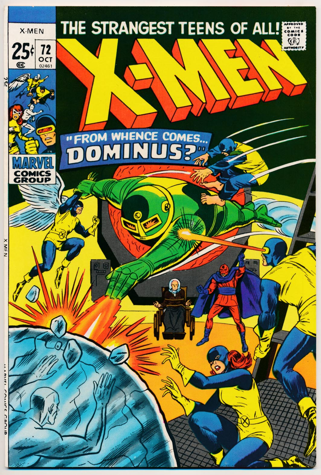 X-Men vol 1 - 72 -NM