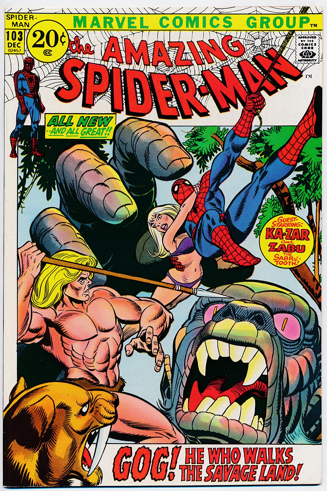 Amazing Spider-Man 103 -NM