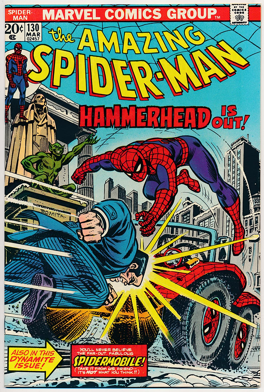 Amazing Spider-Man 130 -NM