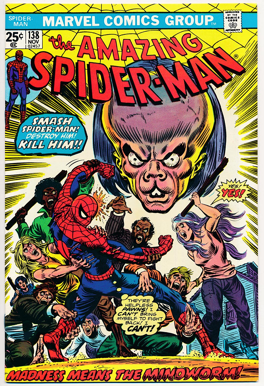 Amazing Spider-Man 138 --VFNM