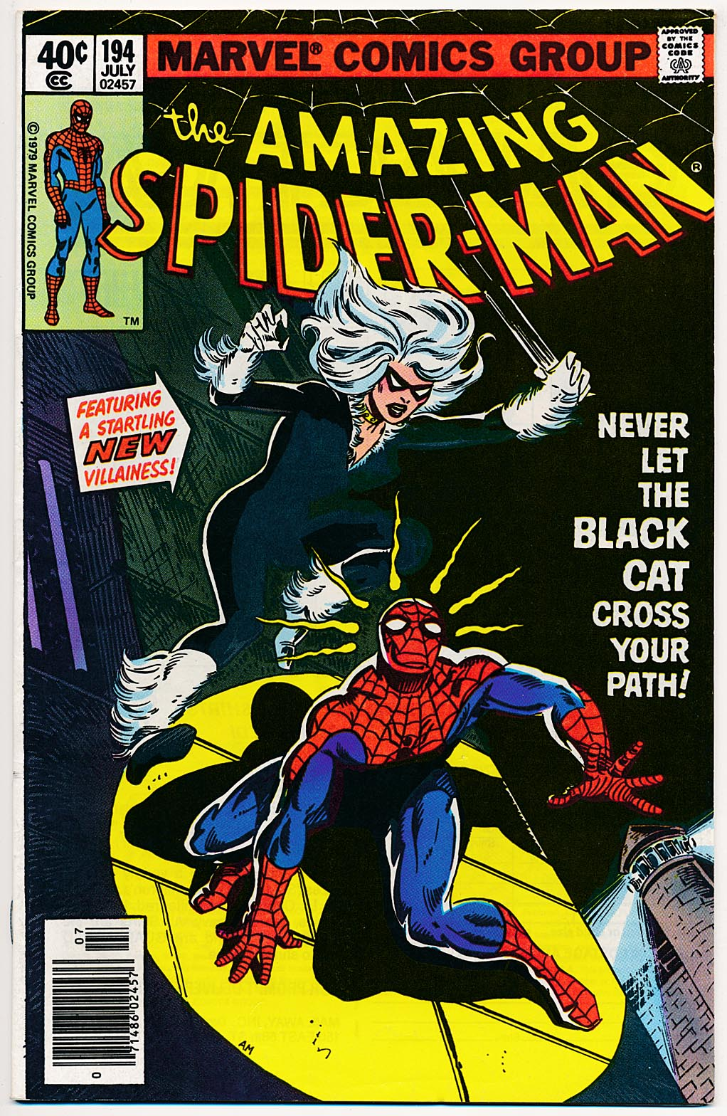 Amazing Spider-Man 194 -VF