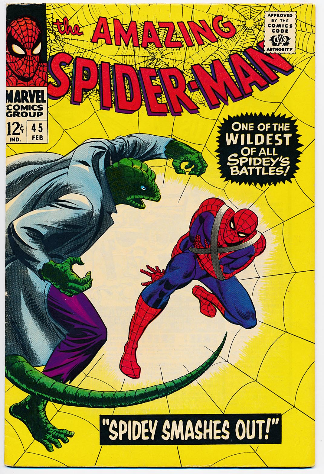 Amazing Spider-Man 45 -VF