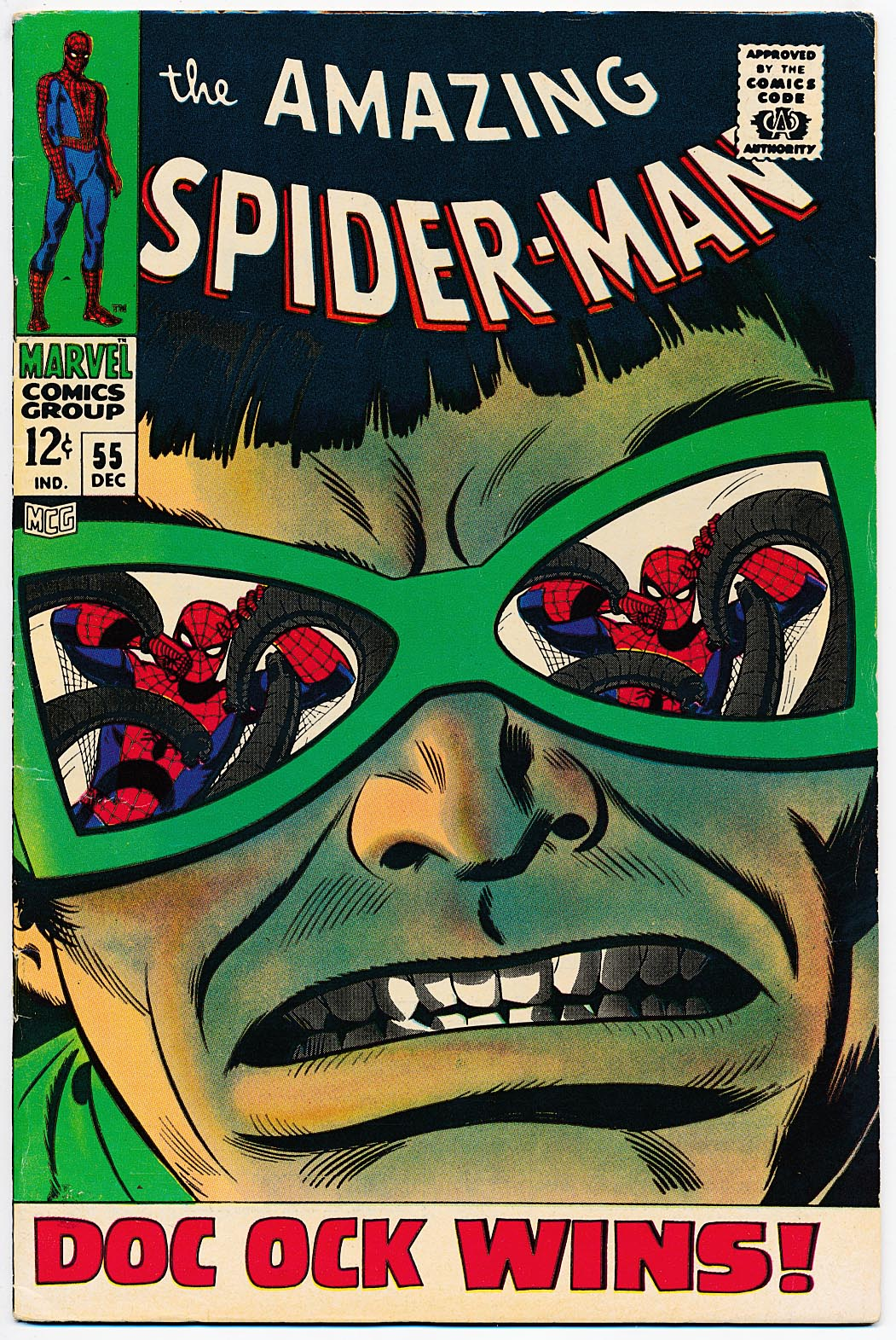 Amazing Spider-Man 55 -VF-VFNM