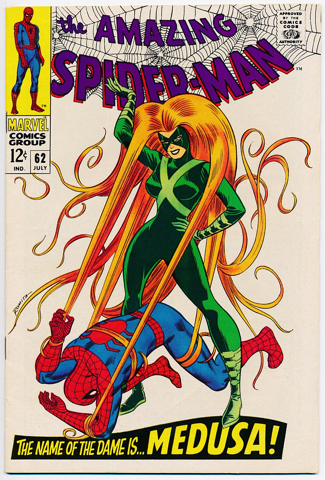 Amazing Spider-Man 62 --VF