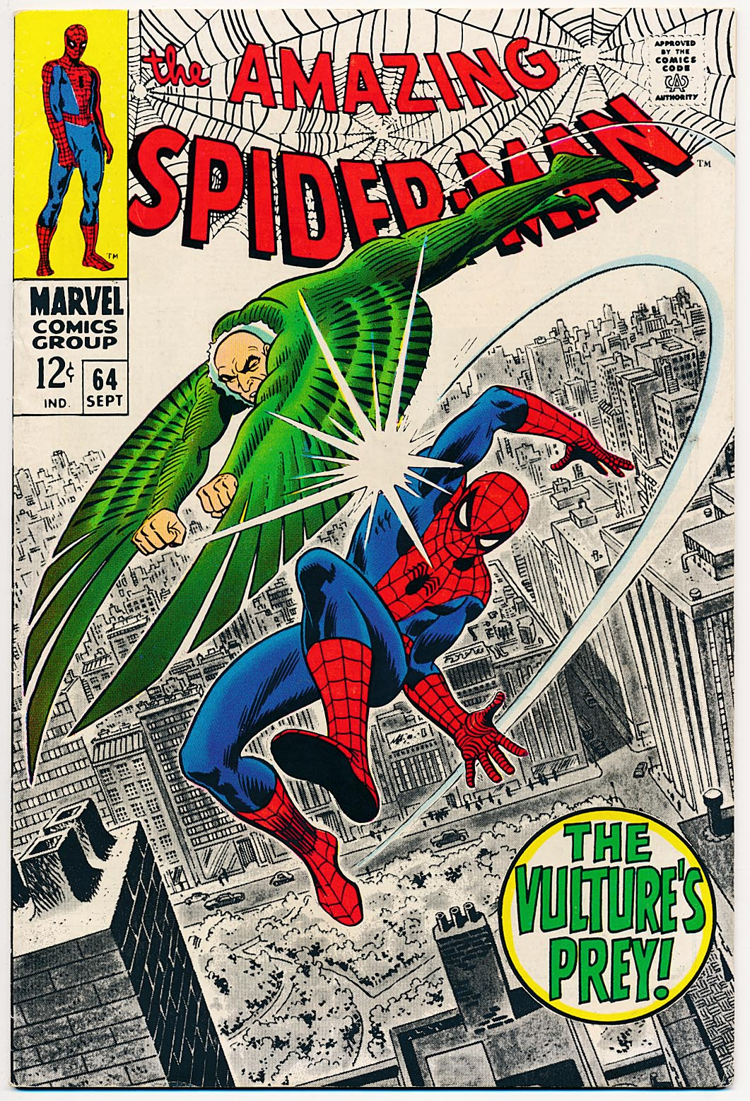 Amazing Spider-Man 64 -VF-VFNM