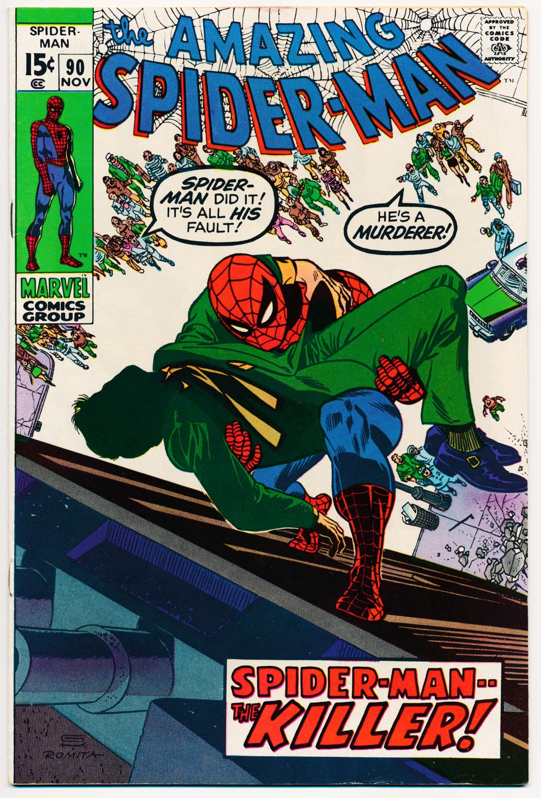Amazing Spider-Man 90 -VFNM