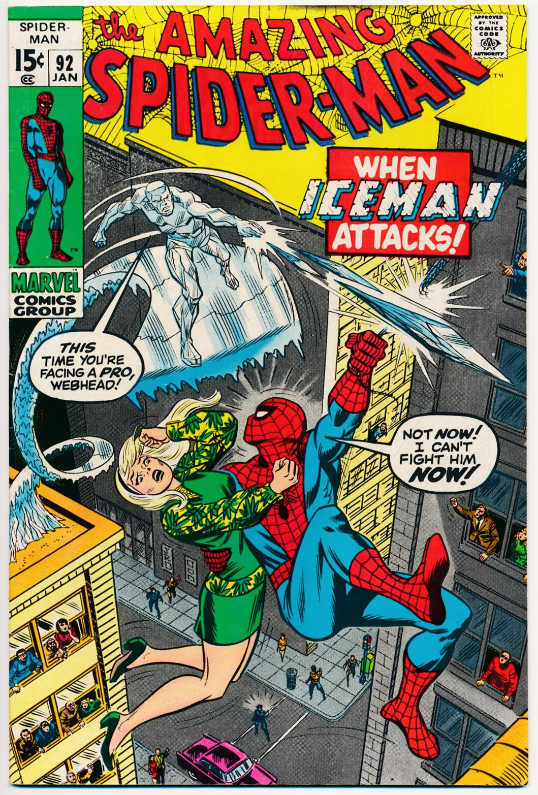 Amazing Spider-Man 92 -F