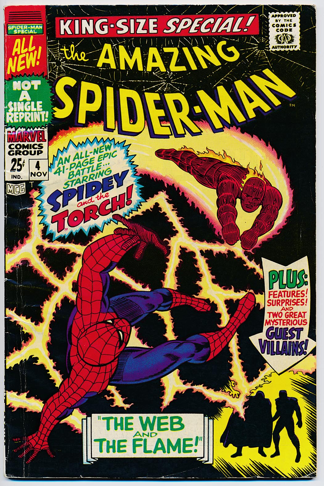 Amazing Spider-Man King-Size Special 4 -F