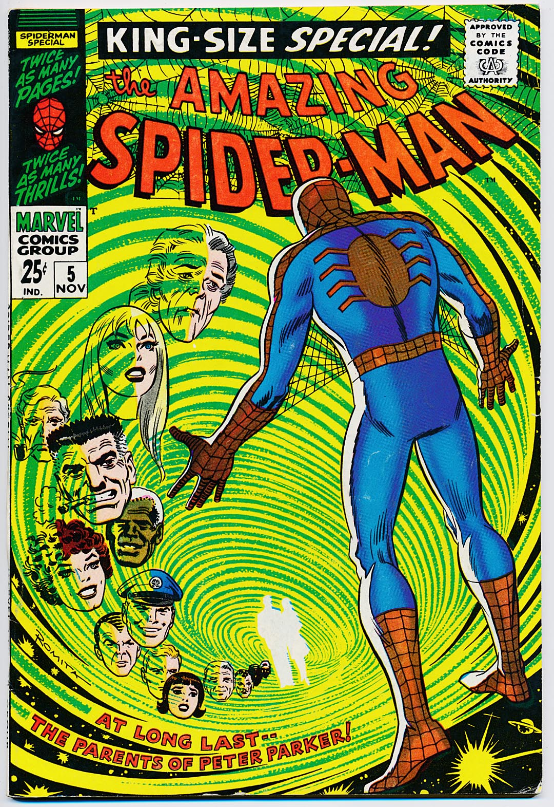 Amazing Spider-Man King-Size Special 5 -VF-VFNM