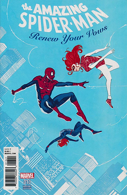 Amazing Spider-Man Renew Your Vows 13 ( 1 in 25 Michael Walsh Variant)