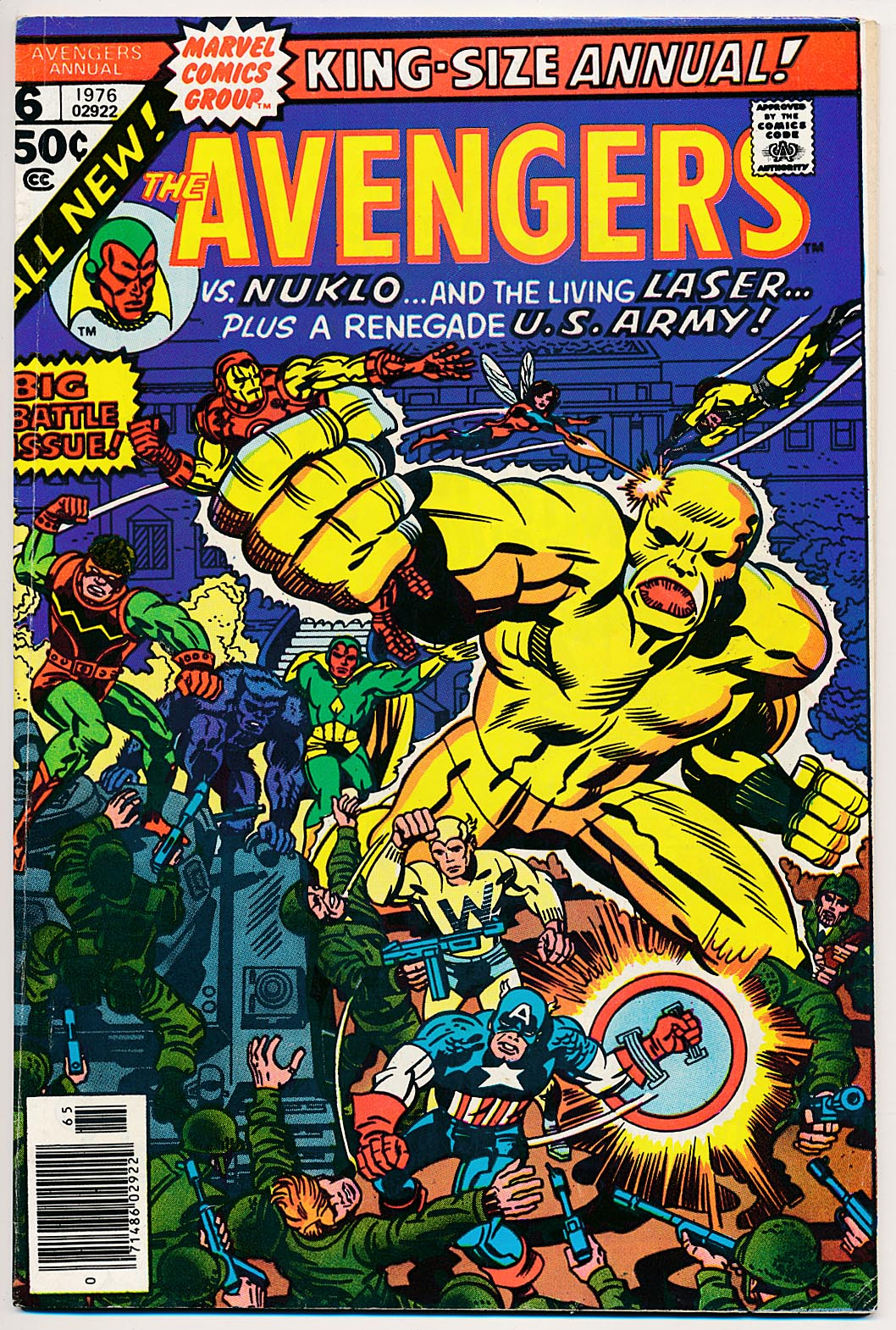 Avengers King-Size Annual 6 -VF