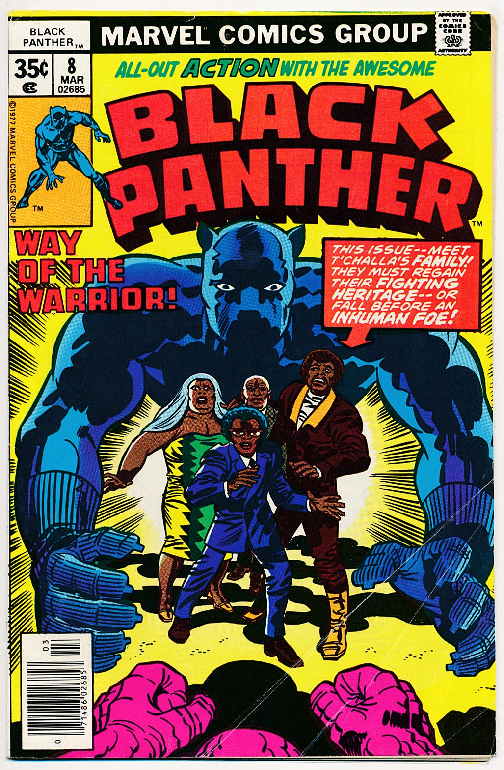 Black Panther vol 1 - 8 -VG
