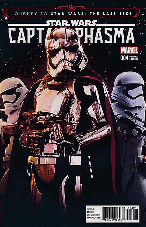 Journey To Star Wars The Last Jedi Captain Phasma 4 (of 4 ) ( 1 in 15 Movie Variant)