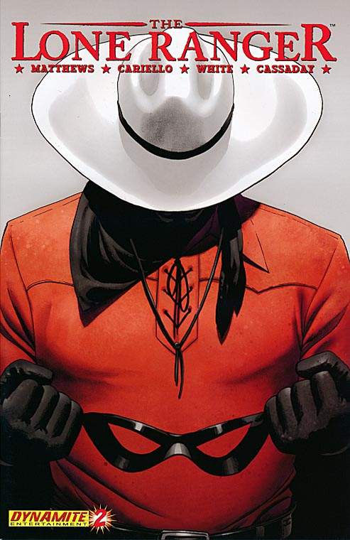 Lone Ranger (Dynamite) 2 (Second Printing)